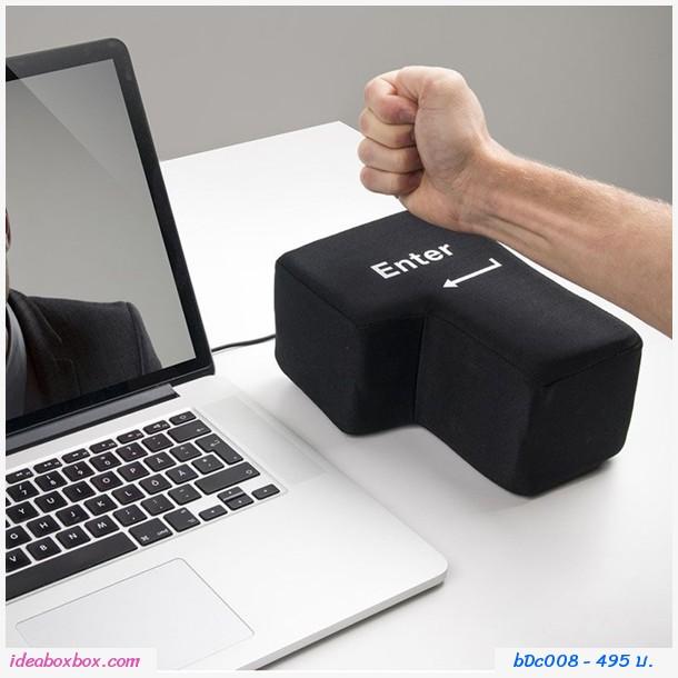 ปุ่ม Enter รองรับอารมณ์ USB Big สีดำ