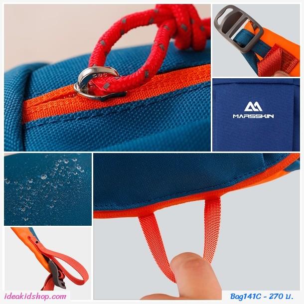 กระเป๋าเป้ Outdoor sports backpack 10L สีชมพูเข้ม