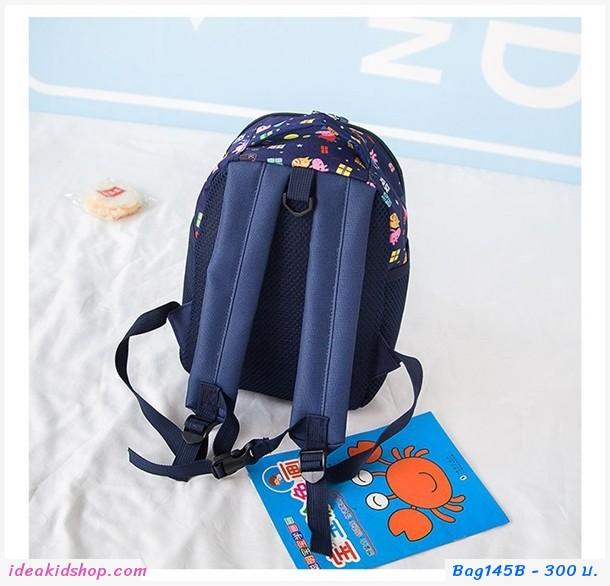 กระเป๋าสะพายหลัง Peppa Pig สีน้ำเงิน
