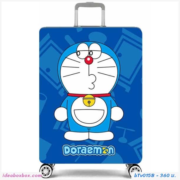 ผ้าคลุมกระเป๋าเดินทางลาย Doraemon B