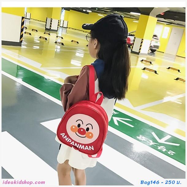 กระเป๋าสะพายหลัง Anpanman สีแดง