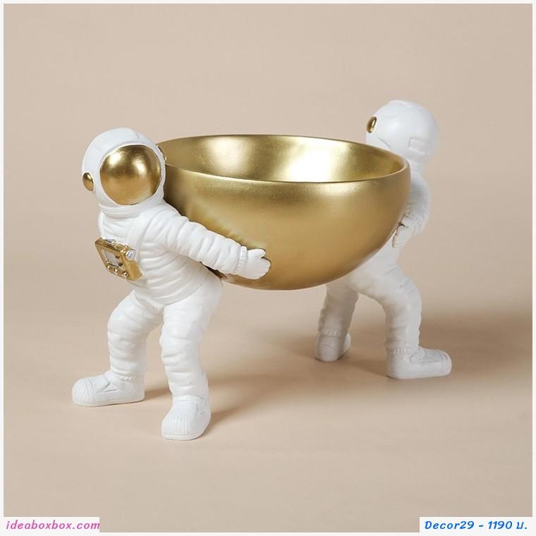 ที่วางของ ตกแบ่งบ้าน นักบินอวกาศ แบกของ Astronaut Storage